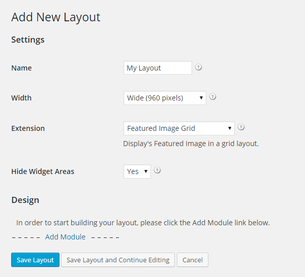 how to add page builder layout in wordpress