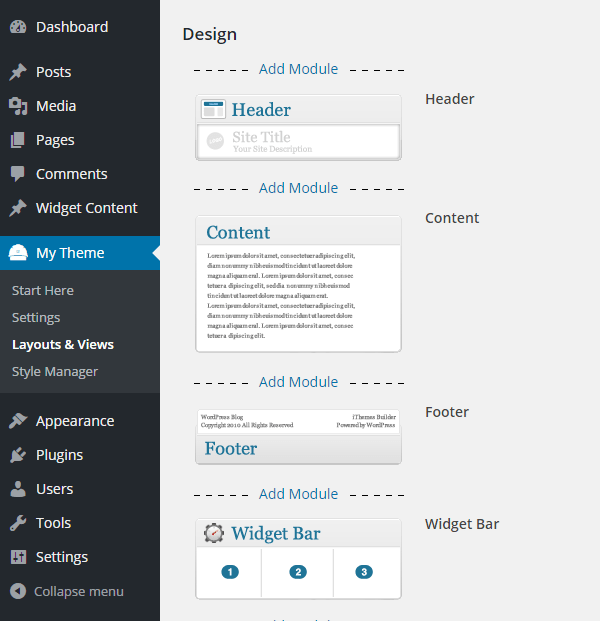 iThemes Builder Review Layout
