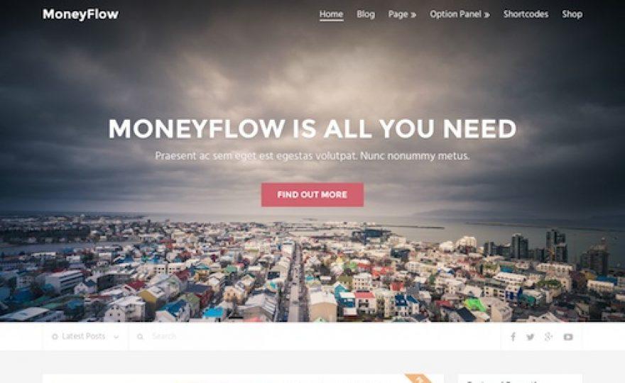 Money Flow: Blog Magazine WordPress Theme