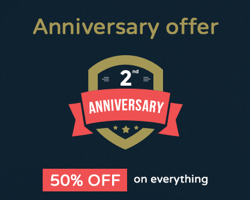 TeslaThemes 2nd Anniversary Celebration – Get 50% Off Everything