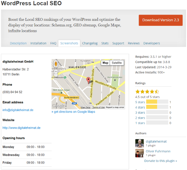 WordPress Local SEO