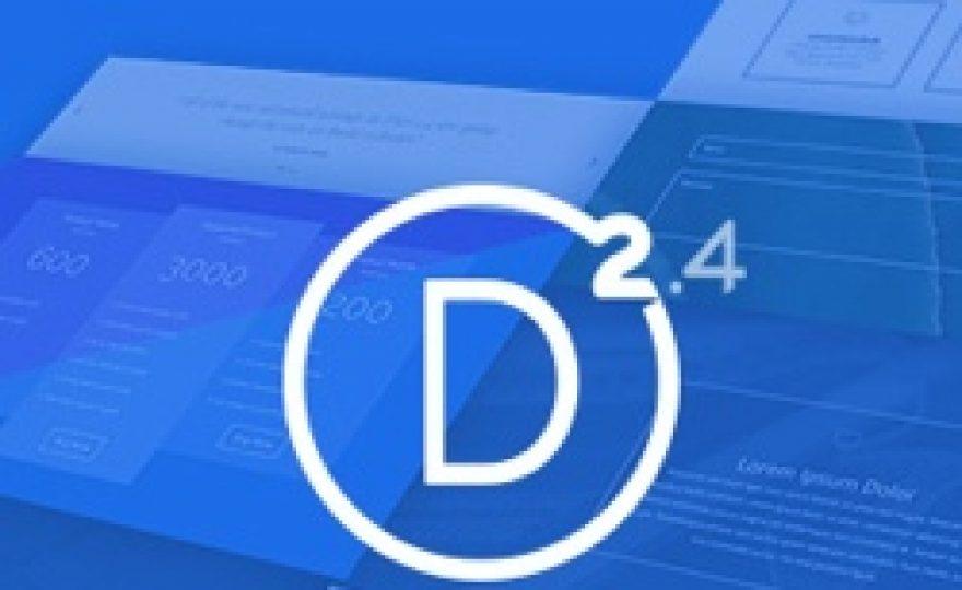 A Look at Elegant Themes Divi 2.4