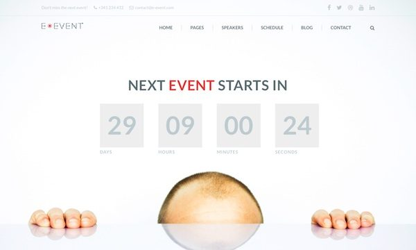 E-Event: Conference & Event WordPress Theme
