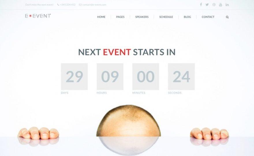 E-Event: Conference & Event WordPress Theme