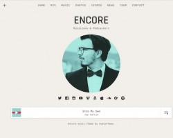 Encore: Music WordPress Theme