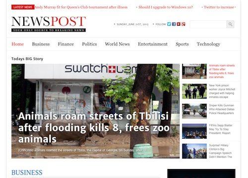 NewsPost: Newspaper WordPress Theme