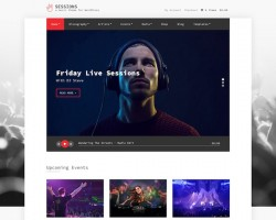Sessions: Music WordPress Theme