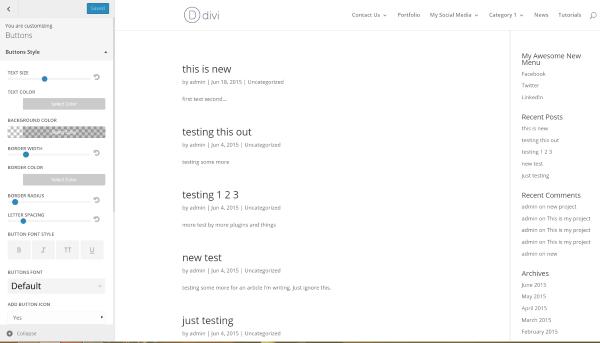 Blogging or Website wordpress