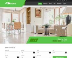 Oikia – Real Estate WordPress Theme