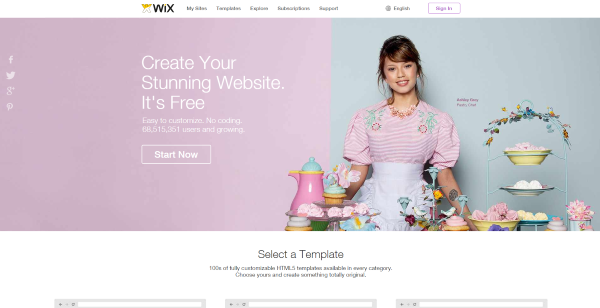 wix how to add a page