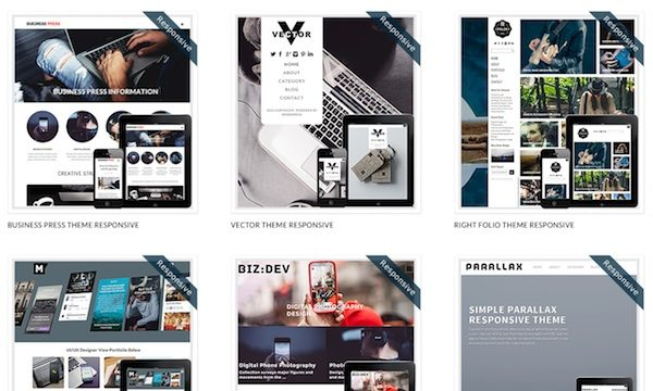 Dessign.net 100+ Premium WordPress Themes for Creative Professionals