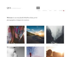 QUA – WordPress Theme for Creatives
