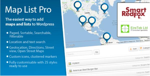 Map List Pro