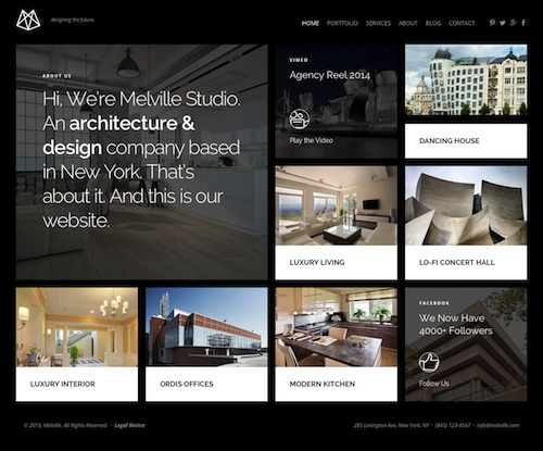 25+ best architecture wordpress themes for architects 2017