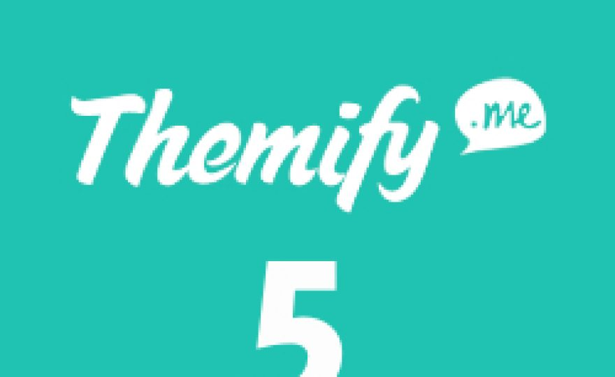 Themify Turns 5 – Get 40% Off