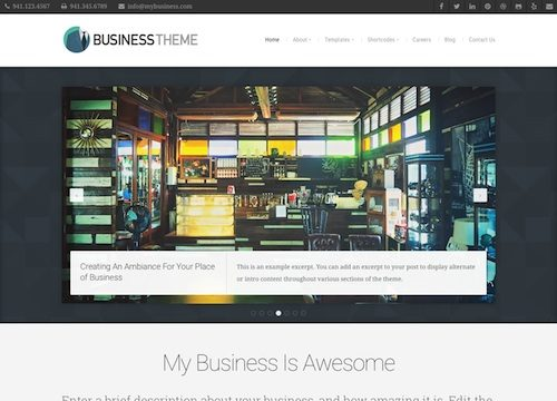 Business WordPress Theme v3