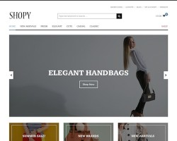 Shopy WooCommerce WordPress Theme