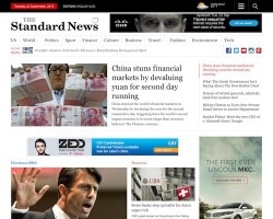 Standard News WordPress Theme
