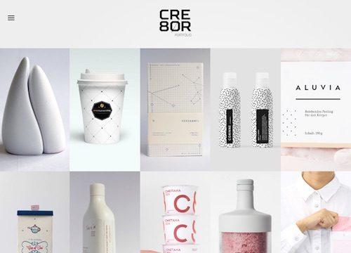 Cre8or: WordPress Portfolio Theme
