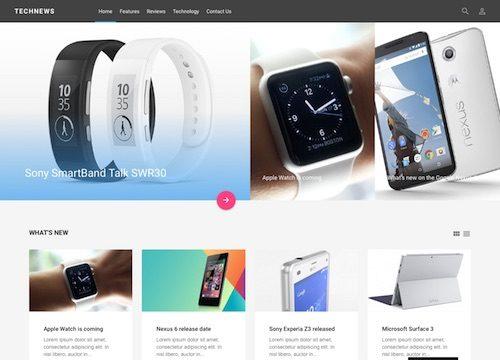 TechNews: Review Magazine WordPress Theme