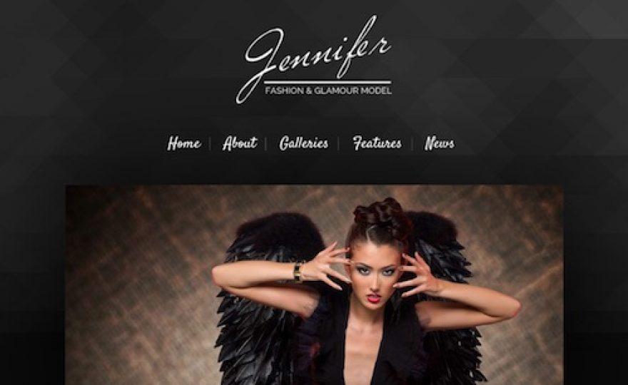 Jennifer: WordPress Theme for Models