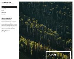 Eclecticon – Portfolio WordPress Theme