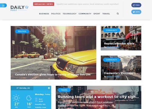 Daily Post – Magazine WordPress Theme