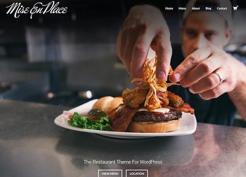 Best Restaurant, Coffee Shop & Cafe WordPress Themes