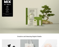 Mix WordPress Theme