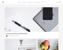 No Sidebar Pro WordPress Theme