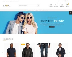 Saha WooCommerce WordPress Theme