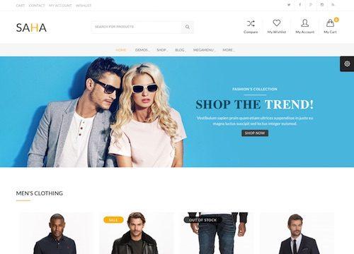 Saha WooCommerce WordPress Theme