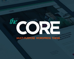 The Core Multipurpose WordPress Theme (10+ Themes in One)