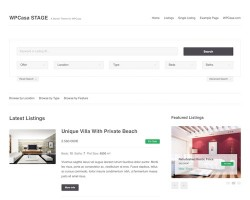 WPCasa STAGE Real Estate WordPress Theme