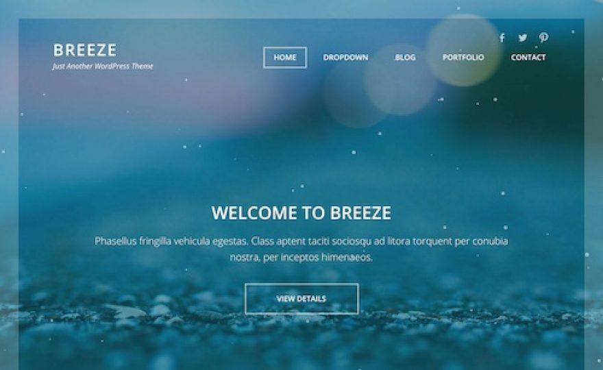 Breeze WordPress Theme