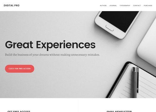 Digital Pro WordPress Theme