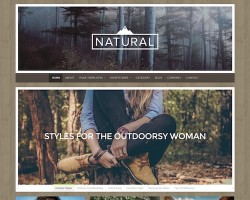 Natural: Multipurpose WordPress Theme