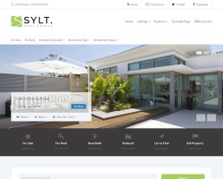 WPCasa Sylt Real Estate WordPress Theme