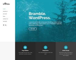 Bramble: Multipurpose WordPress Theme