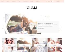 Glam WordPress Theme