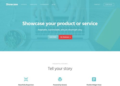 Showcase Pro WordPress Theme