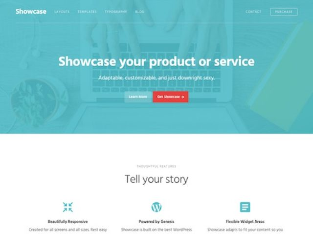Showcase Pro WordPress Theme