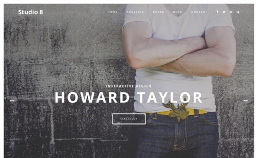 Studio 8: Agency WordPress Theme