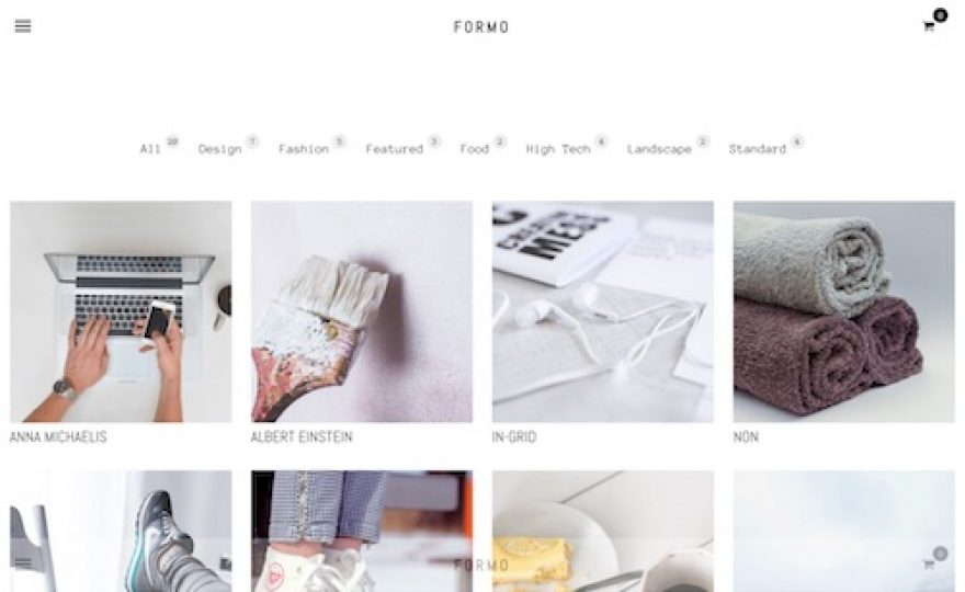Formo WordPress Theme