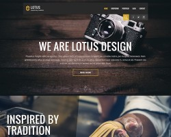 Lotus WordPress Theme