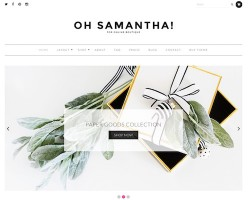 Samantha WooCommerce WordPress Theme