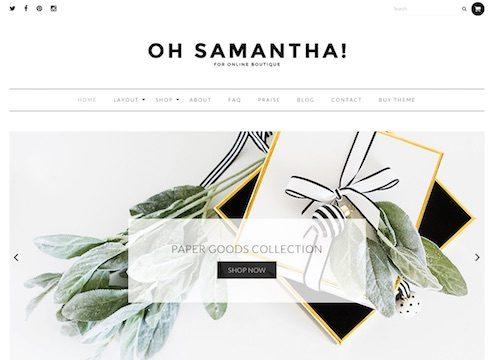 Samantha WooCommerce WordPress Theme