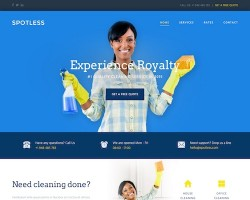 Spotless: Cleaning Company WordPress Theme