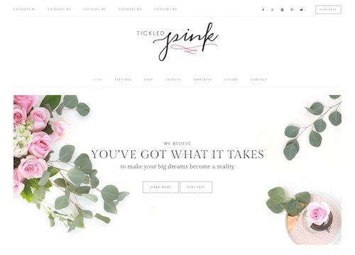 Tickled Pink: WooCommerce WordPress Theme