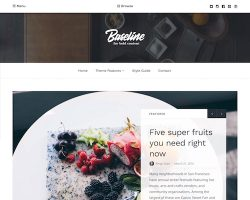 Baseline: Magazine WordPress Theme